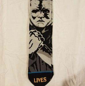 Michael myers halloween stance Socks new large